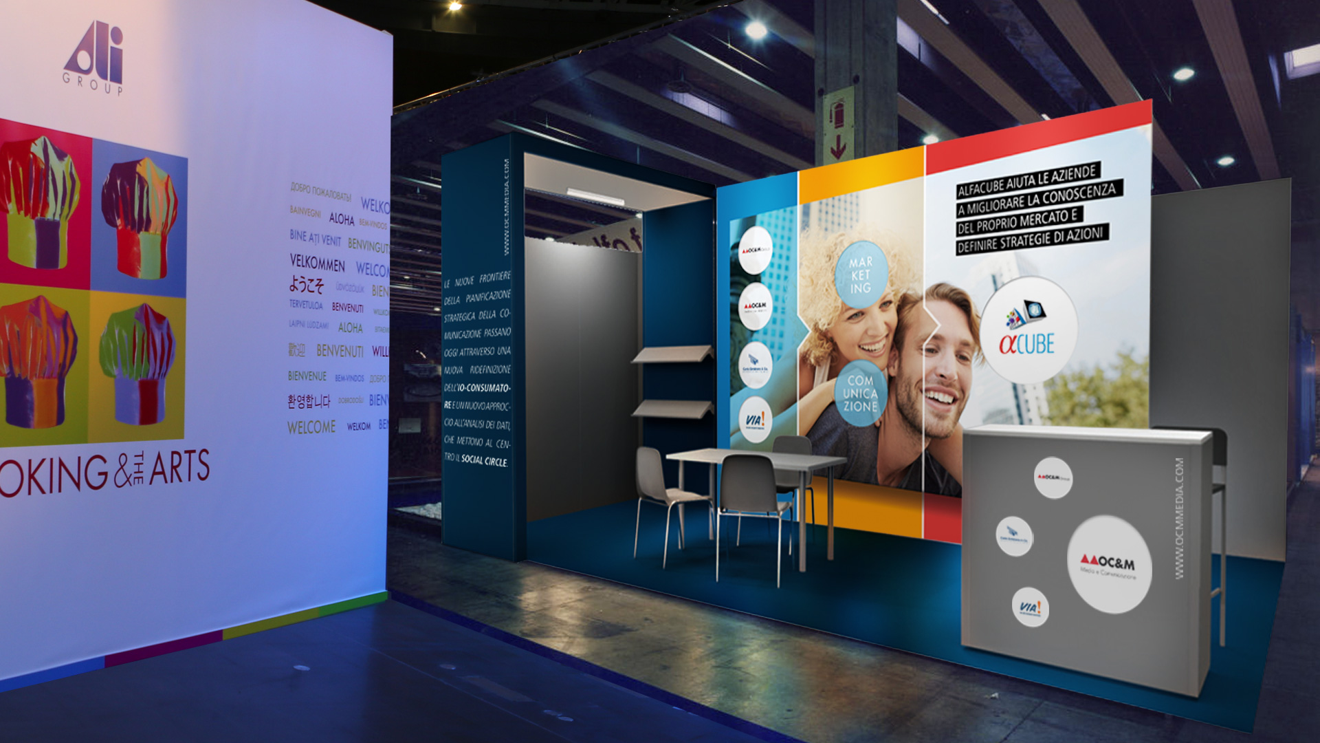 OCM Media & Comunicazione The stand